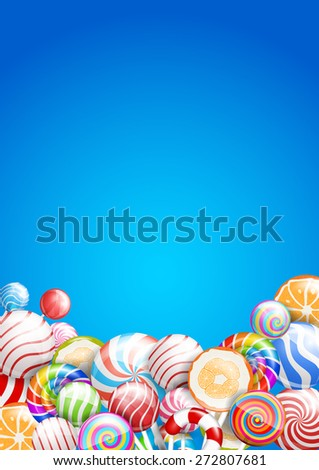 lollipops candies and sweets