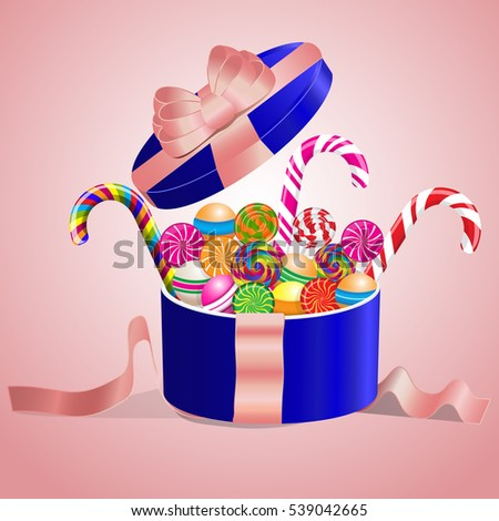 lollipops set collection in