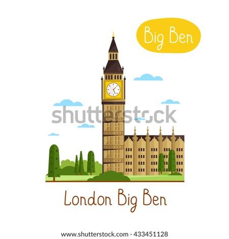london big ben famous world