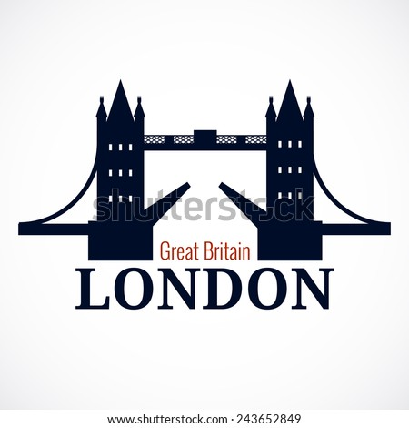 london bridge logo attraction