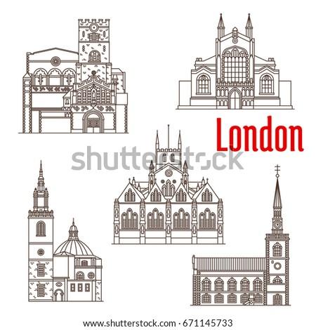 london city landmark buildings