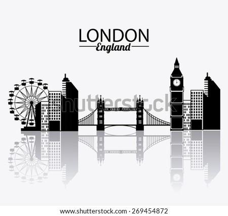 london design over white