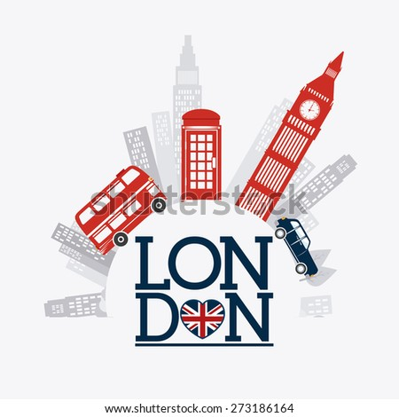 london design over white