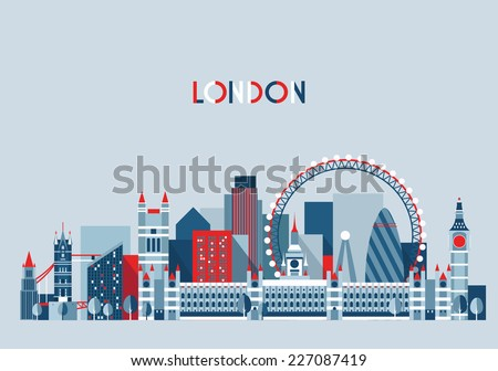 london  england  city skyline