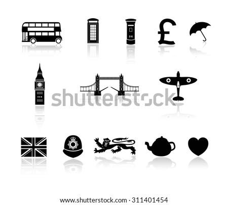 london   england icon