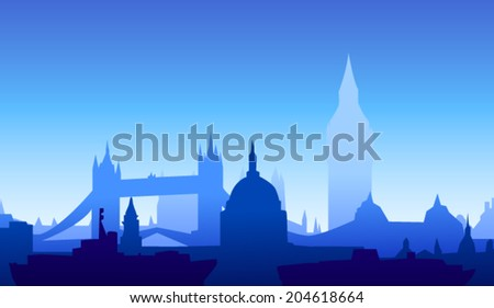 london  england skyline