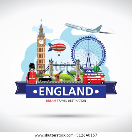 london  england vector travel