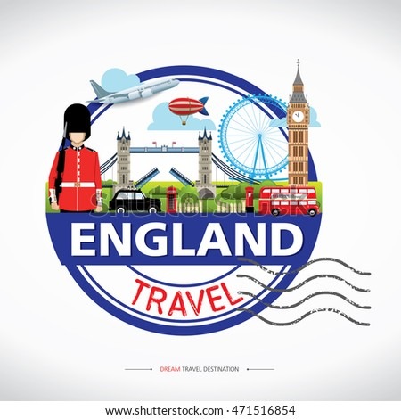 london  england vector travel