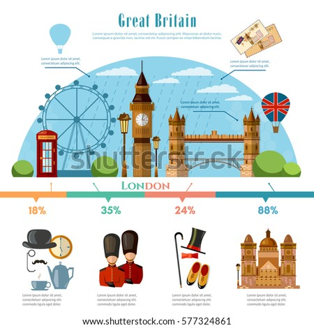 london infographic tourist