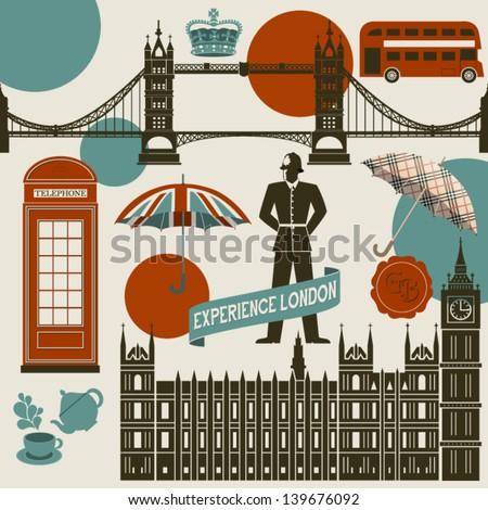london landmarks  symbols and...