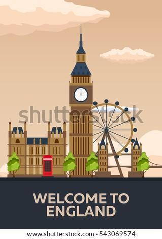 london poster england london