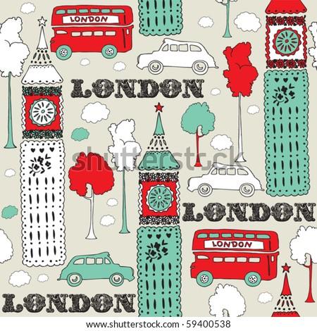 london seamless background
