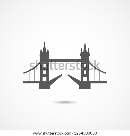 London Tower Bridge icon
