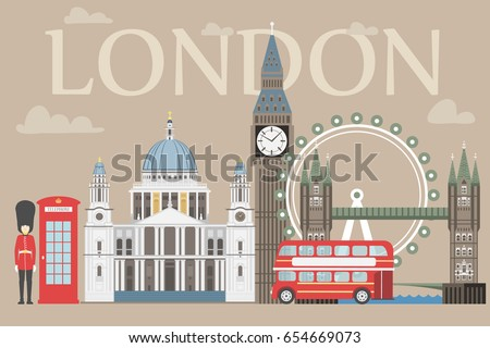 london travel info graphic