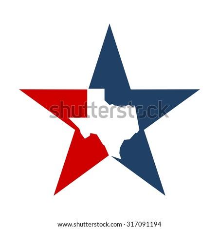 lone star texas logo template