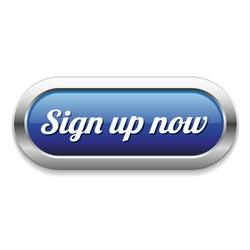 Long blue sign up now button