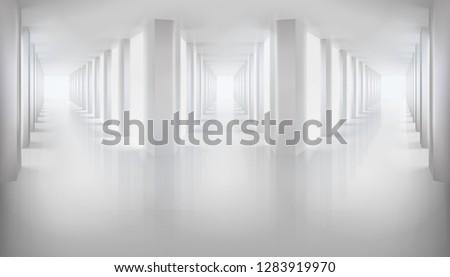 long hallways empty hall