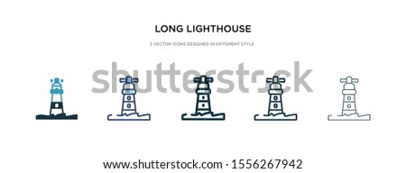 long lighthouse icon in