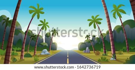 long road among the jungle
