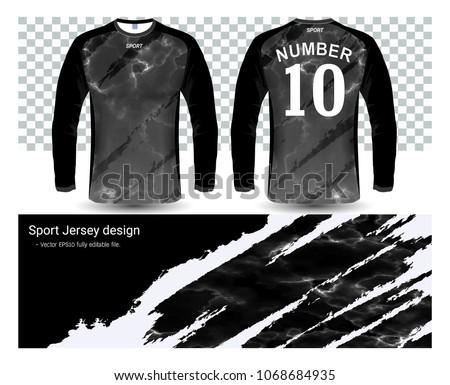 long sleeve soccer jerseys t