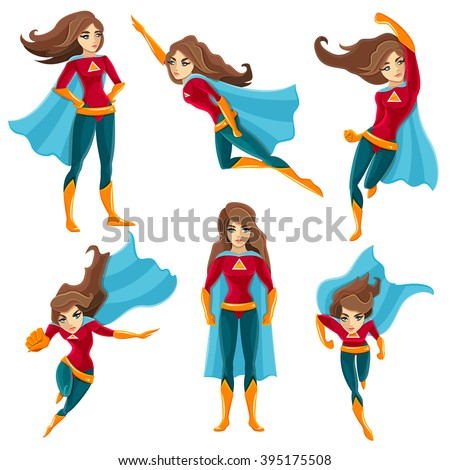 longhaired superwoman actions