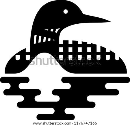 loon swim logo