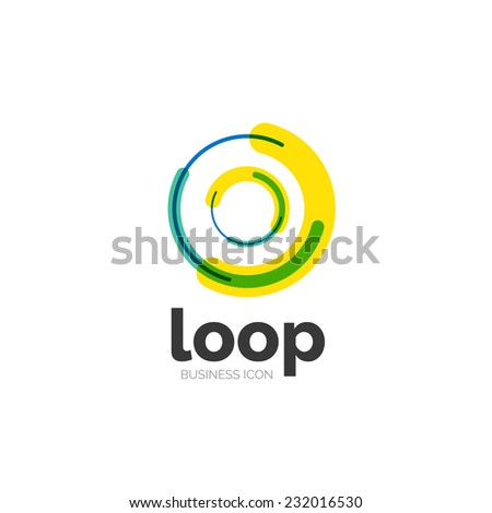 Royalty-free Loop, infinity business icon, logo ...