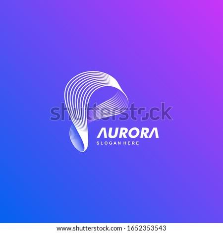 loop vector logo illustration
