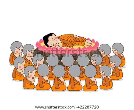 lord buddha's nirvana on the