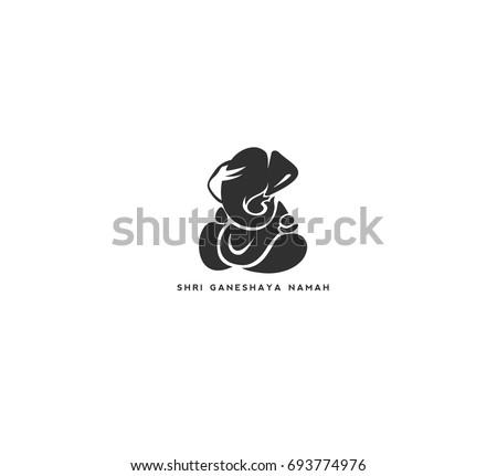 lord ganesha icon  chaturthi