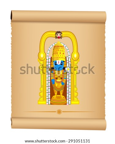 lord venkateswara   indian god