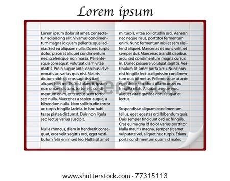 lorem ipsum in notepad