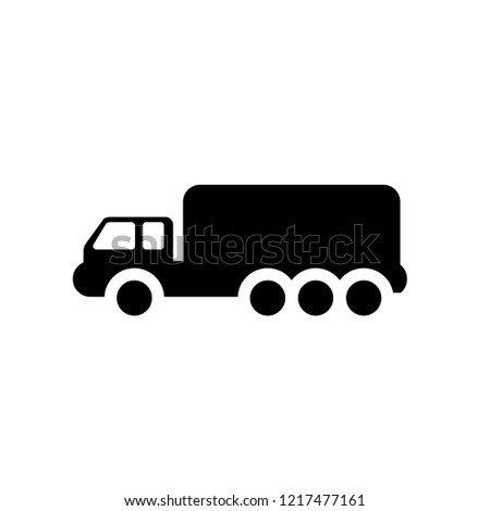 Lorry icon. Trendy Lorry logo concept on white background from Transportation collection. Suitable for use on web apps, mobile apps and print media.