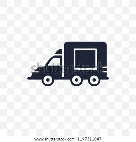 Lorry transparent icon. Lorry symbol design from Transportation collection.