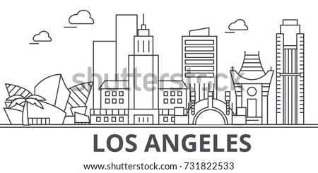 los angeles architecture line