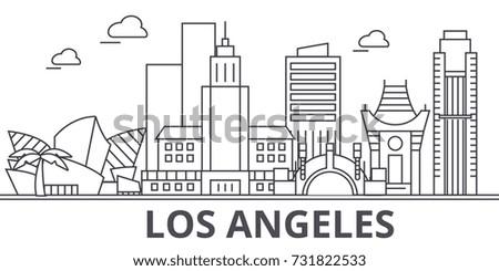los angeles architecture line