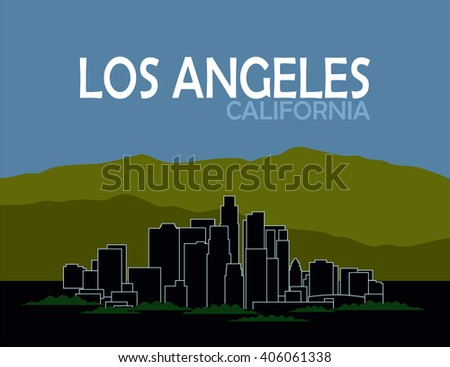 los angeles california