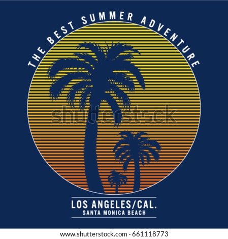 los angeles california tee...