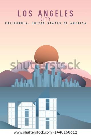 los angeles city california