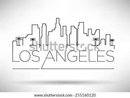 los angeles city line