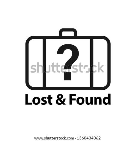 lost   found icon clipart
