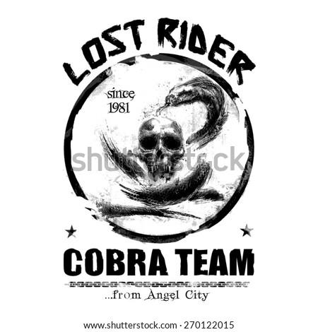 lost rider graphic illustration