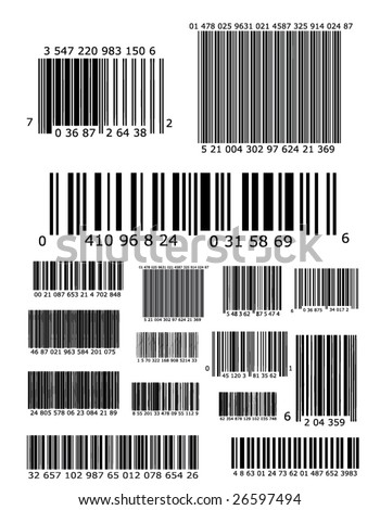 Lots of barcodes