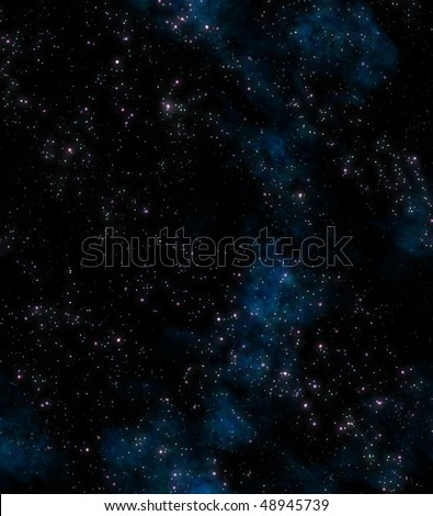 lots of stars in outer space