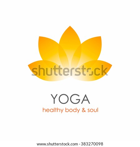 Vector Images Illustrations And Cliparts Lotus Flower Yoga Symbol