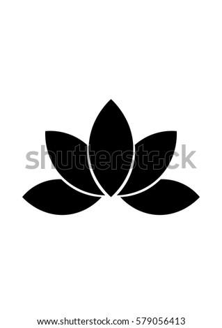 Lotus icon, Vector