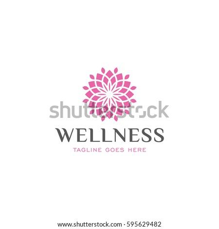 lotus   logo icon vector