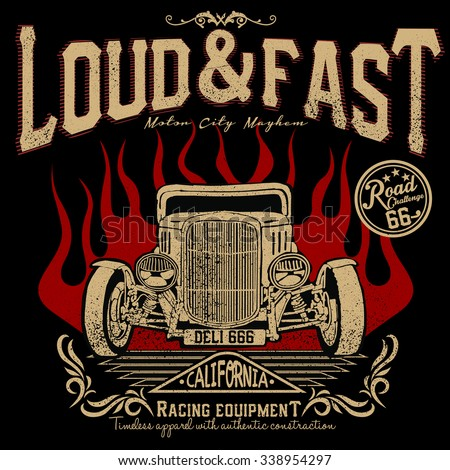 loud and fast racing equipment
