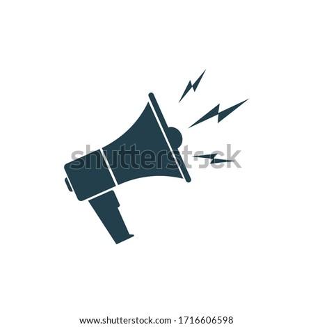 Loud speaker icon symbol vector