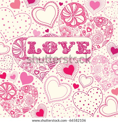 stock vector : Love